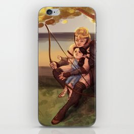 Diana and Antiope iPhone Skin