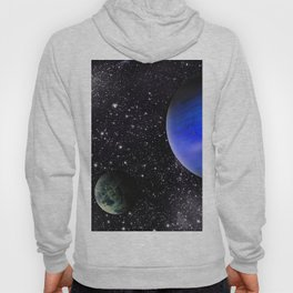 Stars planet Space 3D Graphics Planets Hoody