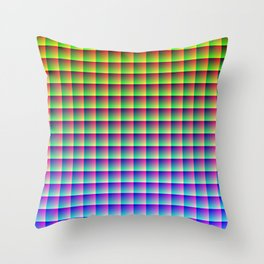 allRGB Throw Pillow