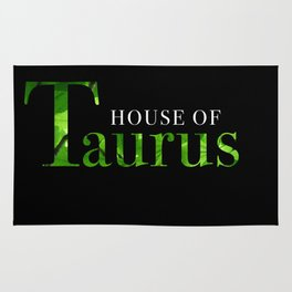 House of Taurus logo Rug