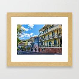Streets of Jerome Framed Art Print