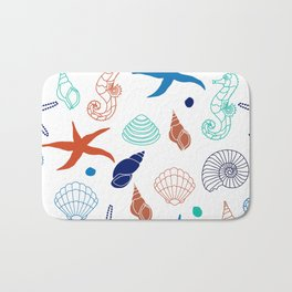 Just for the Shell of it Bath Mat