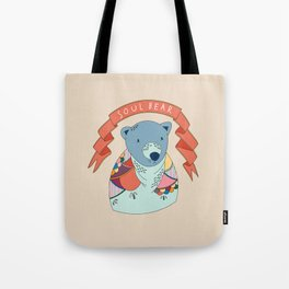 Soul Bear Tote Bag