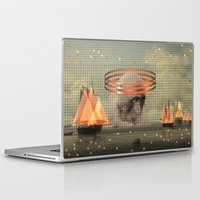 pixies Laptop & iPad Skins featuring this monkey gone to heaven by Rosa Picnic