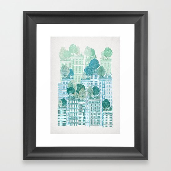 Juniper Framed Art Print