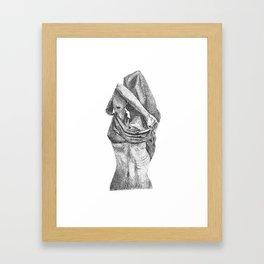 Taking Framed Art Print