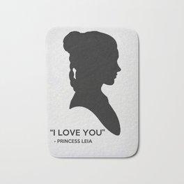 SW - I Love You Bath Mat