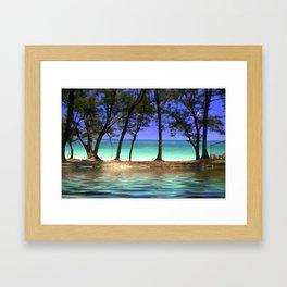Paradise - Paradise Island, Bahamas Framed Art Print