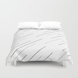 Clear start Duvet Cover