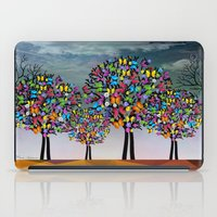 butterfly iPad Cases featuring butterfly by mark ashkenazi