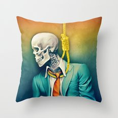 9-5 Grind Throw Pillow