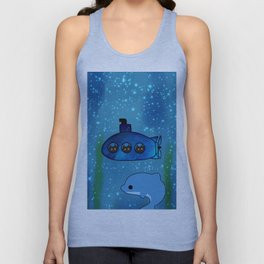 cats and dolphin 202 Unisex Tank Top