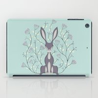 hare iPad Cases featuring Hare by Sophie Mitchell