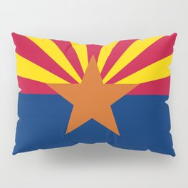 Arizona: Arizona State Flag Pillow Sham