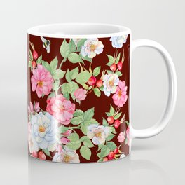Vintage Floral Pattern No. 5 Coffee Mug