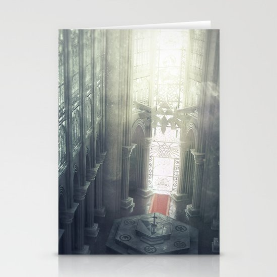 Zelda Cathedral Stationery Cards