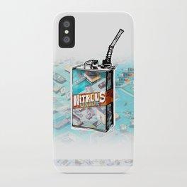 NITROUS OXIDE iPhone Case