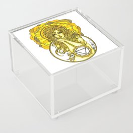 Solar Plexus Chara Acrylic Box