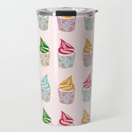 Cute as a multicoloured cupcakes! Travel Mug
