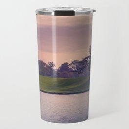 Stag spotting at Sunset Travel Mug