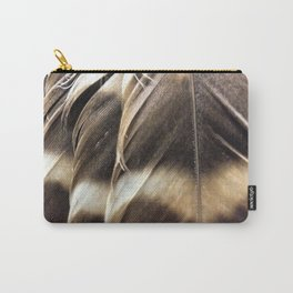 Barred Owl Feathers Carry-All Pouch