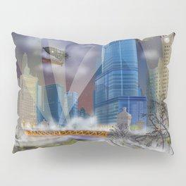 Windy City (Steampunked) Pillow Sham