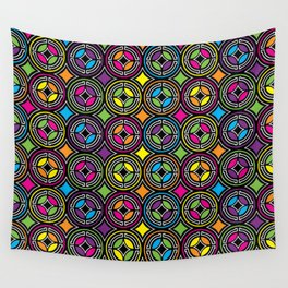 Groovy Geo Wall Tapestry