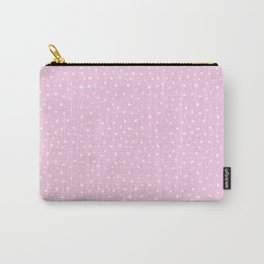 Pink Spots Carry-All Pouch