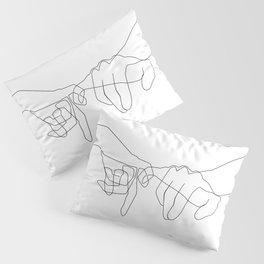 Pinky Swear Pillow Sham