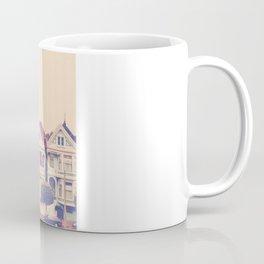 Darling do come see us! San Francisco Painted Ladies photograph Coffee Mug
