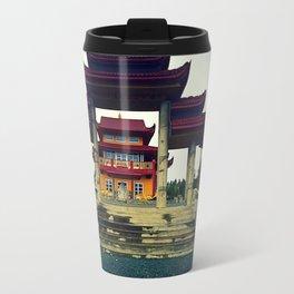 Buddhists Temple Travel Mug