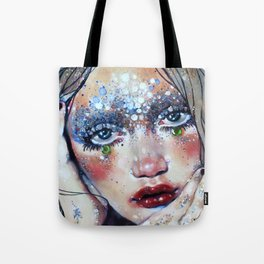 Beneath Crystal Waters Tote Bag