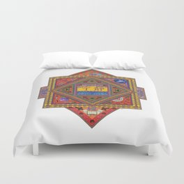 Meditations on Serenity Duvet Cover