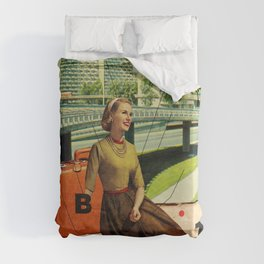 Give & Thank You Duvet Cover