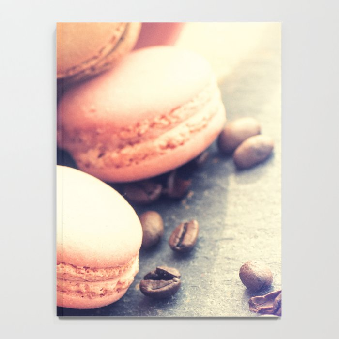 Sweet Cake with coffee beans Notebook