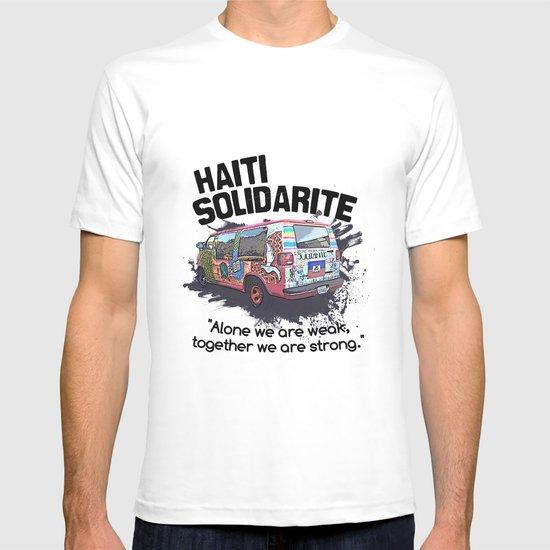Haiti Solidarity - Ayiti Solidarite T-shirt