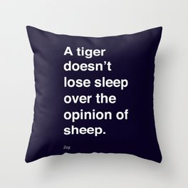 sheeple Throw Pillow