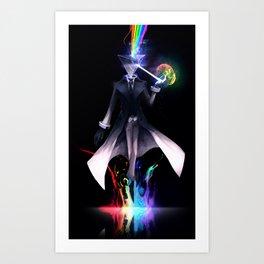 Prismhead Magician Art Print