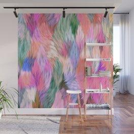 Faux Fur Wall Mural