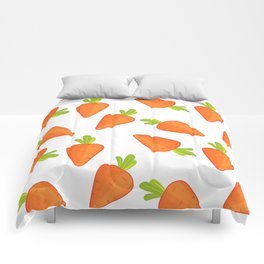 carrot pattern Comforters