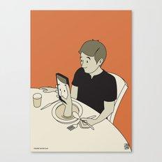 Foodporn Canvas Print