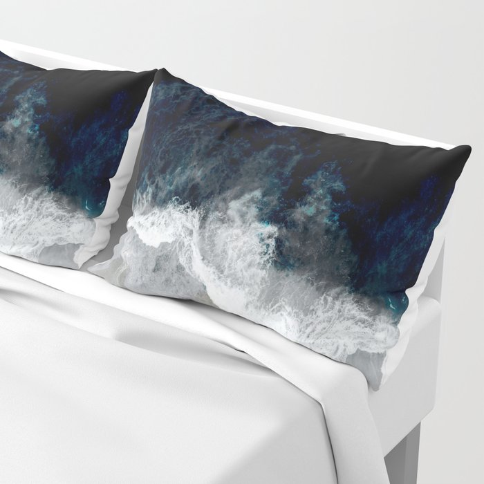 Blue Sea Kissenbezug