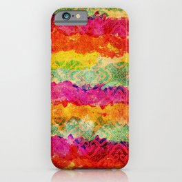 Hindu Colors iPhone Case