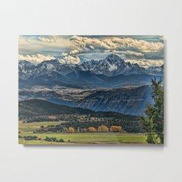 View to Mt Sneffels Metal Print