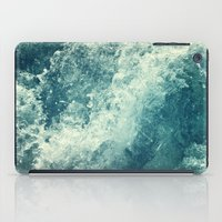 water iPad Cases featuring Water I by Dr. Lukas Brezak