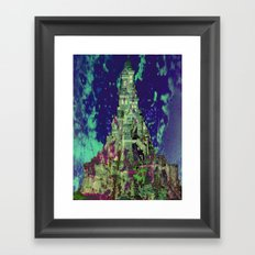 The Castle of Ghosts Framed Art Print