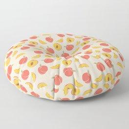 Millions Of Peaches Floor Pillow