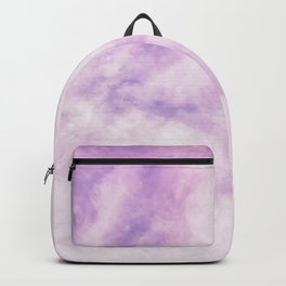 Fuchsia Cloud // Colorful Sunset Pink and Purple Fluffy Ocean Sky Photography Beach Vibes Backpack