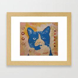 Ted portrait Framed Art Print