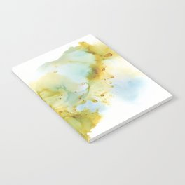 Alcohol Ink Abstract Landscape - Earth, Sky, Water Notebook